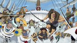 Pirati di barbabianca attaccano