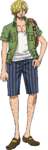 Sanji Stampede Outfit