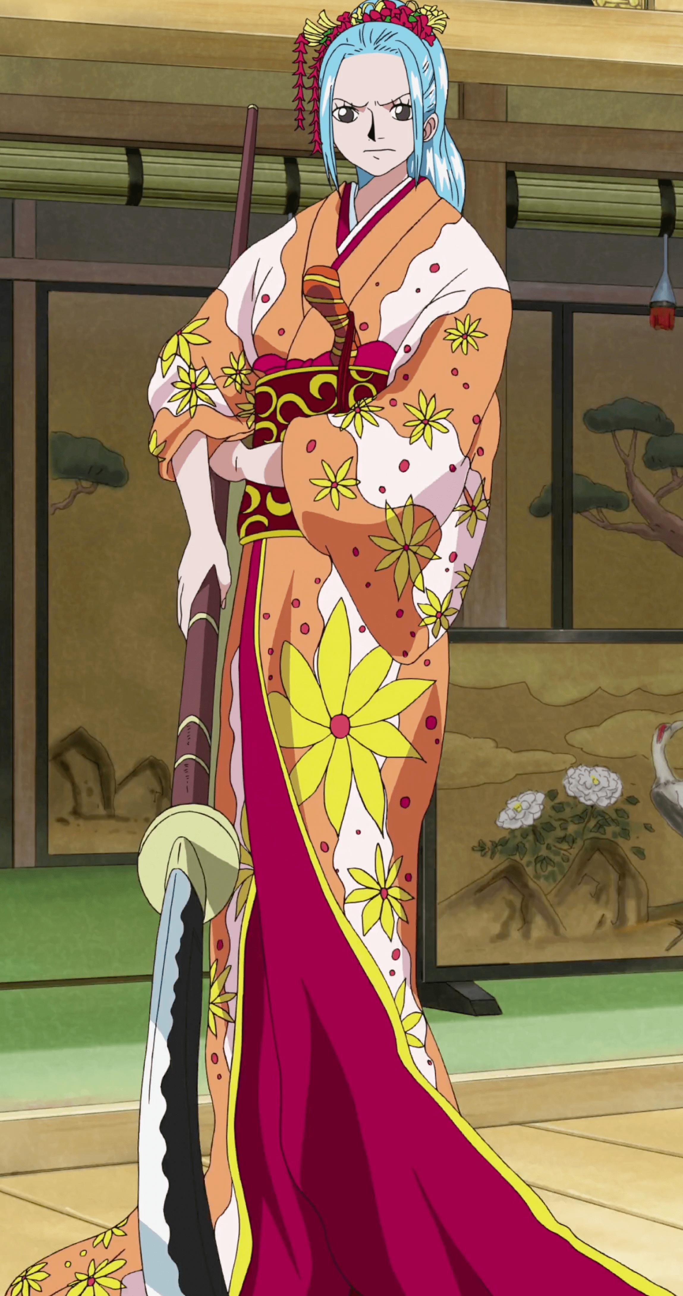 Vivi princess Boss Luffy Historical Special