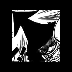 La forma della testa di Ikaros Muhhi