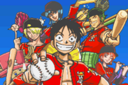 Straw Hat team Going Baseball