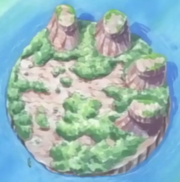 Kumate Island in the Anime
