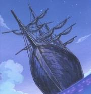 Barco en el flashback de Buggy