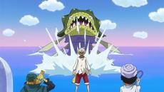 El equipo se enfrenta a un ciempiés gigante
