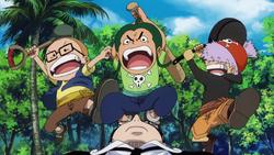 Pirati di Usop attaccano Kuro