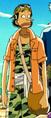 Vestimenta de Usopp en la película 3