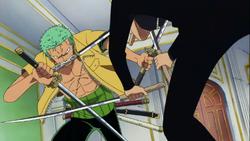 Zoro contro Kaku