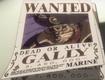 Cartel de recompensa de Gally