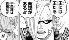 Ichiji ridiculiza los ideales de Sanji