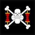 Piratas de Krieg bandera