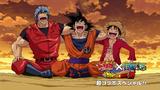 Segundo Eyecatcher de Luffy, Toriko y Goku