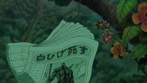 Whitebeard Anime Death Newspaper