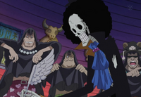"""Brook's """"Lodgings and Panties Repayment"""" Anime Finale"""