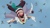 Buggy Arrives at Marineford