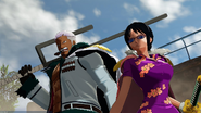 One Piece World Seeker Smoker and Tashigi
