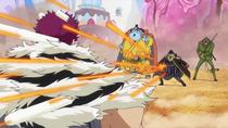 Bege shoots Katakuri