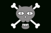 Black Cat Pirates' Jolly Roger