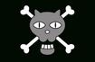 Black Cat Pirates' Jolly Roger