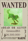 Greenolf65 Wanted Poster