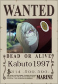 Kabuto1997 Wanted Poster