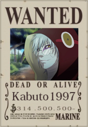 Kabuto1997 Wanted Poster