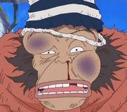 Kamonegi golpeado