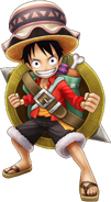 Luffy Stampede Thousand Storm
