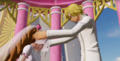 Mariage Sanji et Pudding One Piece Pirate Warriors 4