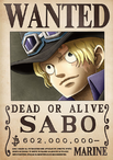 Sabo's Wanted Poster