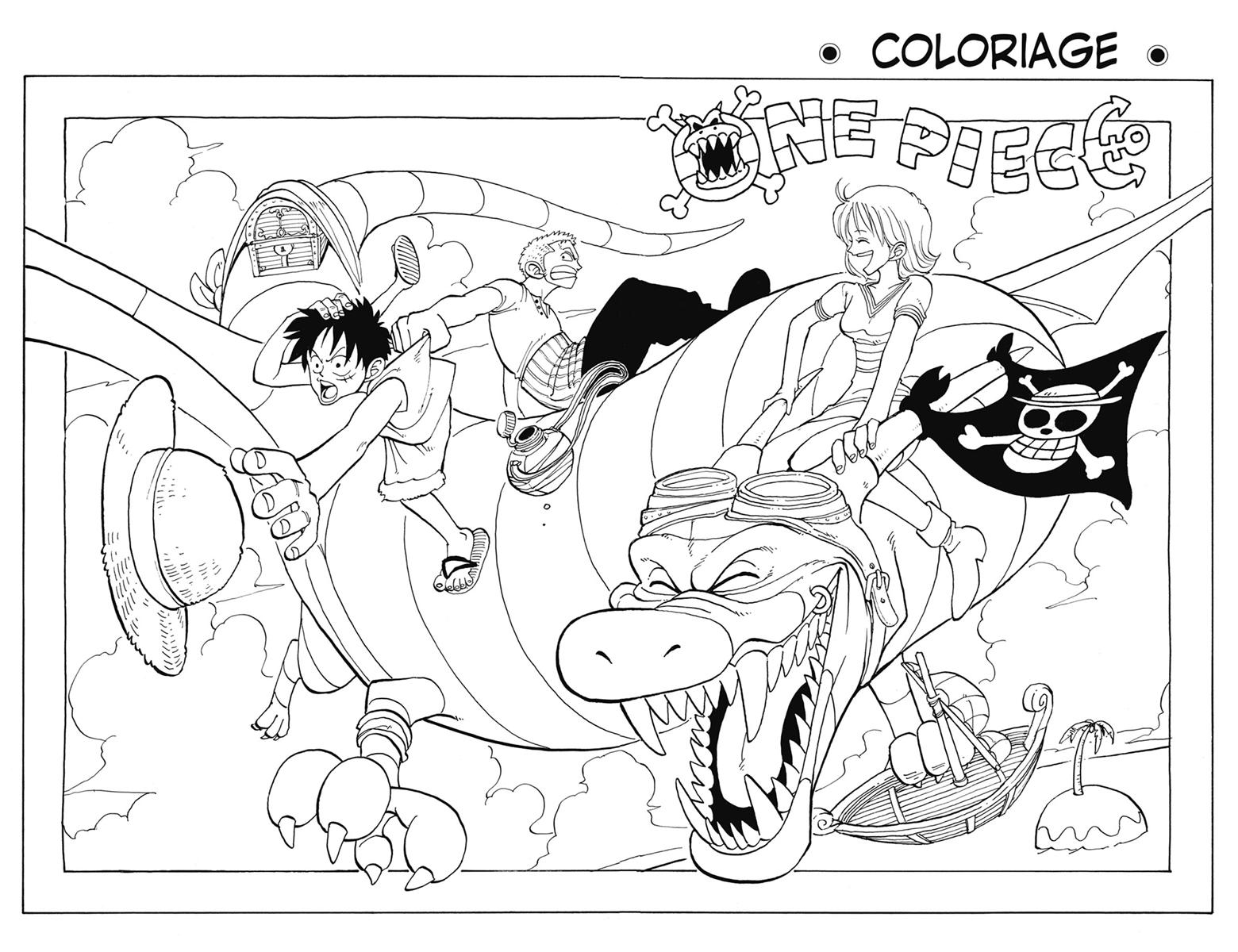 15 One Piece 2 Ans Plus Tard Coloriage Imprimer Et Obtenir