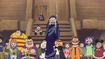 Кармель и дети из дома Овечек встречают Линлин