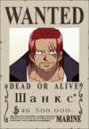 Шанкс Wanted Poster 2