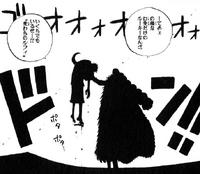 Crocodile derrota a Luffy