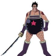 Zambai Anime Concept Art