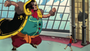 Bear King Vs Luffy