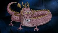 Dragón del vertedero