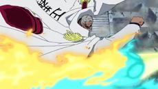 Garp golpea a Marco