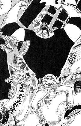 Jesus Burges Manga Infobox