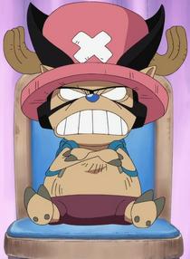 Chopper as a Foxy Pirate
