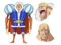 Concepto de Daifuku en el anime