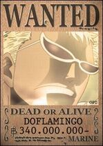 Doflamingo-wanted