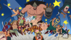 Les Gladiateurs Battent les Pirates de Doflamingo