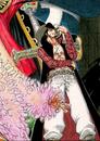 Mihawk coloré dans le manga