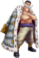 Whitebeard Animal Coat Thousand Storm