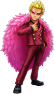 Doflamingo Minion Island Thousand Storm