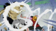 Gomu gomu no Jet Pistol Anime