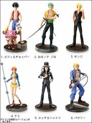 One Piece Styling Figures 2
