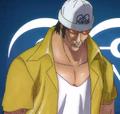 Borsalino de joven en el anime
