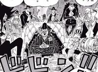 L'équipage du Firetank Manga Infobox