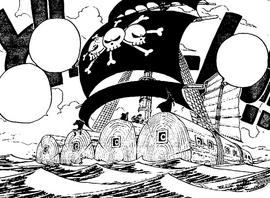 Radeau de Barbe Noire Manga Infobox